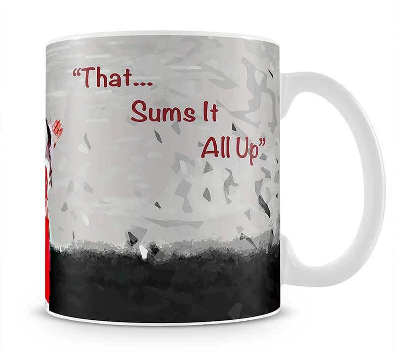 Tony Adams That Sums It All Up Mug - Canvas Art Rocks - 1