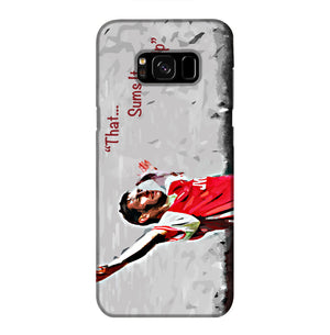 Tony Adams That Sums It All Up Phone Case Samsung S8 Plus