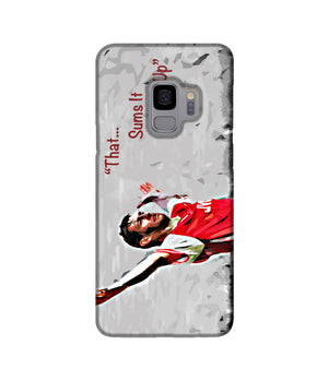 Tony Adams That Sums It All Up Phone Case Samsung S9