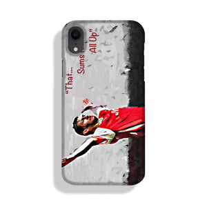 Tony Adams That Sums It All Up Phone Case iPhone XR