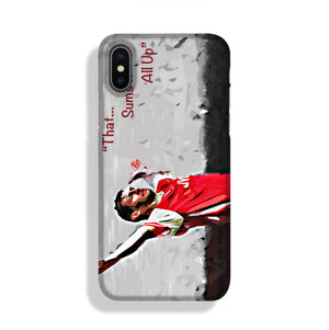 Tony Adams That Sums It All Up Phone Case iPhone X/XS