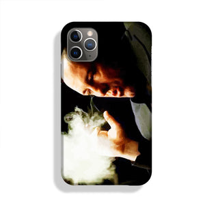 Tony Soprano Cigar Smoke Phone Case iPhone 11 Pro Max
