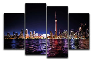 Toronto 4 Split Canvas Print