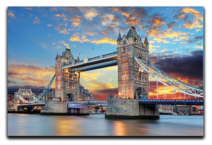 Tower Bridge Canvas Print or Poster  - Canvas Art Rocks - 1