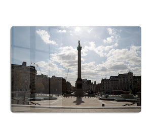 Trafalgar Square London under Lockdown 2020 HD Metal Print - Canvas Art Rocks - 1