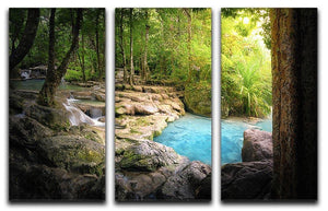 Tranquil and peaceful nature 3 Split Panel Canvas Print - Canvas Art Rocks - 1