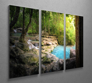 Tranquil and peaceful nature 3 Split Panel Canvas Print - Canvas Art Rocks - 2