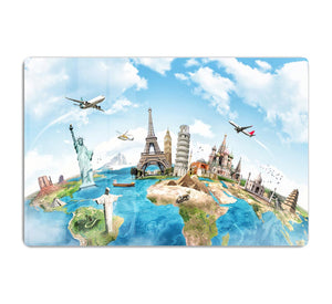 Travel the world HD Metal Print