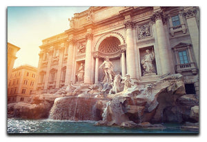 Trevi Fountain in Rome Italy Canvas Print or Poster  - Canvas Art Rocks - 1
