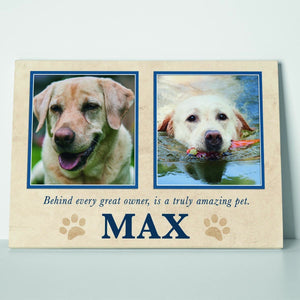 Truly Amazing Pet Canvas Print