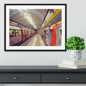 Tube Framed Print - Canvas Art Rocks - 1