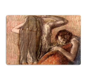 Two girls by Degas HD Metal Print - Canvas Art Rocks - 1