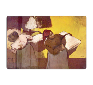 Two washer women by Degas HD Metal Print - Canvas Art Rocks - 1