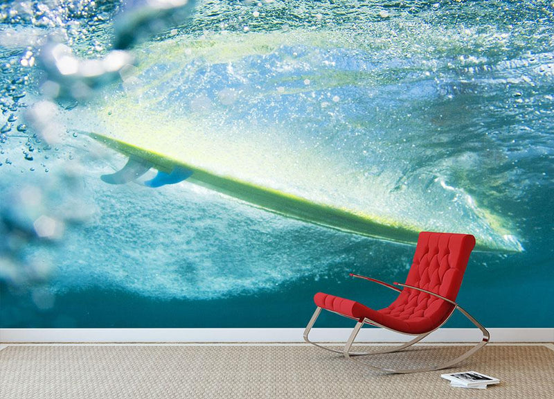 Underwater shot Honlua Bay Wall Mural Wallpaper - Canvas Art Rocks - 1
