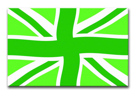 Union Jack Green Twist Print - They'll Love It - 1
