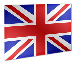 Union Jack Flag Metal Print - Canvas Art Rocks - 1