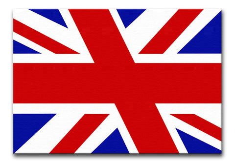 Union Jack Slant Print - They'll Love Wall Art - 1