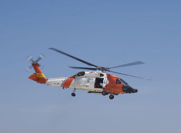 United States Coast Guard helicopter Wall Mural Wallpaper