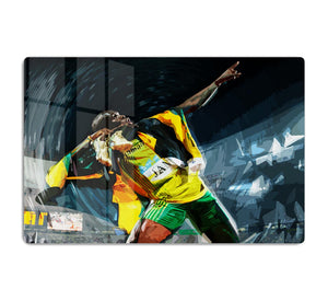 Usian Bolt Iconic Pose HD Metal Print
