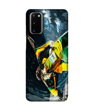 Usian Bolt Iconic Pose Phone Case Samsung S20