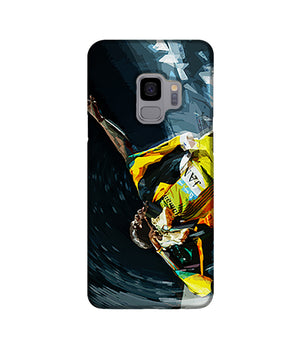 Usian Bolt Iconic Pose Phone Case Samsung S9