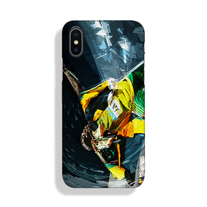 Usian Bolt Iconic Pose Phone Case iPhone XS Max