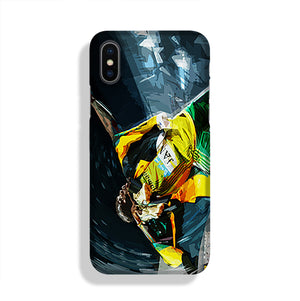Usian Bolt Iconic Pose Phone Case iPhone X/XS