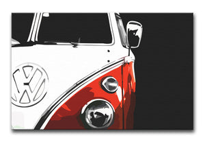 VW Camper Print - Canvas Art Rocks - 1