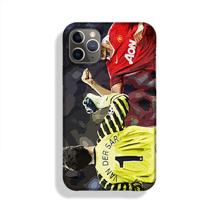 Van Der Sar And Rio Ferdinand Phone Case iPhone 11 Pro Max