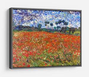Van Gogh Poppies Field HD Metal Print