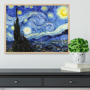 Van Gogh Starry Night Framed Print - Canvas Art Rocks - 4