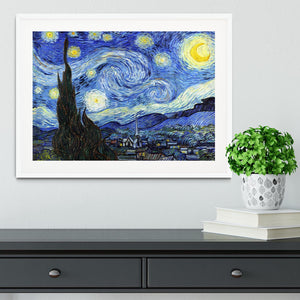 Van Gogh Starry Night Framed Print - Canvas Art Rocks - 5