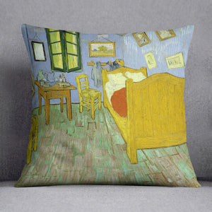 Van Gogh Vincents bedroom Cushion