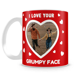 I Love Your... Photo Upload Personalised Mug
