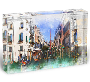 Venice Painting Acrylic Block - Canvas Art Rocks - 1