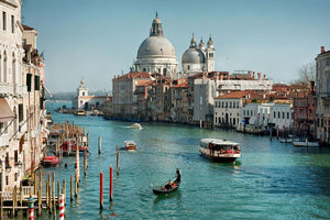 Venice Wall Mural Wallpaper - Canvas Art Rocks - 1