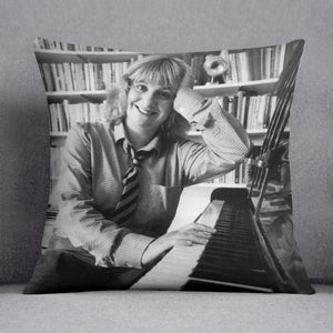 Victoria Wood at the piano Cushion