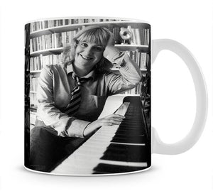 Victoria Wood at the piano Mug - Canvas Art Rocks - 1