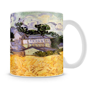 View of Auvers with Church by Van Gogh Mug - Canvas Art Rocks - 4