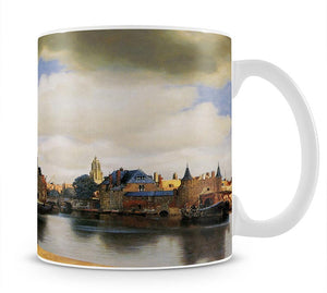 View of Delft by Vermeer Mug - Canvas Art Rocks - 1