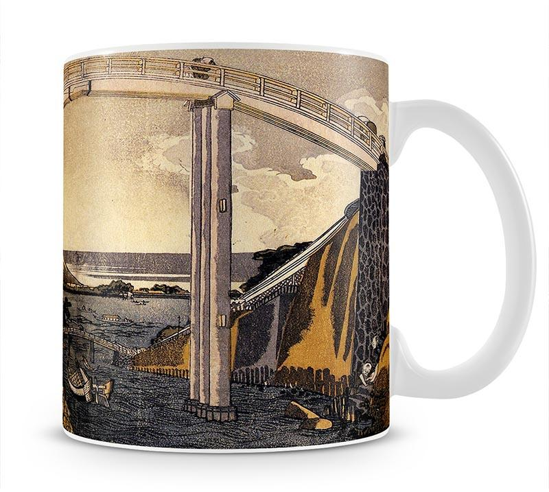 View of Mount Fuji by Hokusai Mug - Canvas Art Rocks - 1