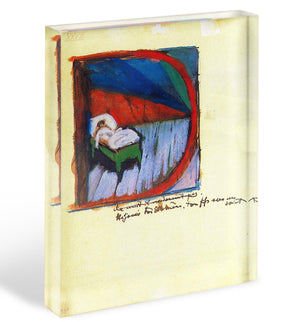 Vignette D by Franz Marc Acrylic Block - Canvas Art Rocks - 1