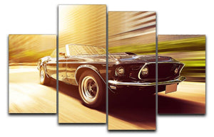Vintage Car 4 Split Panel Canvas  - Canvas Art Rocks - 1