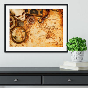 Vintage grunge still life Framed Print - Canvas Art Rocks - 1