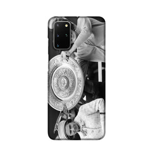 Virginia Wade tennis player Phone Case Samsung S20 Plus