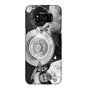 Virginia Wade tennis player Phone Case Samsung S8 Plus