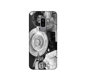 Virginia Wade tennis player Phone Case Samsung S9 Plus