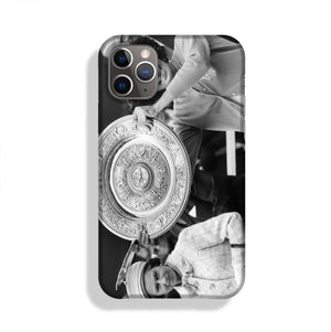 Virginia Wade tennis player Phone Case iPhone 11 Pro Max