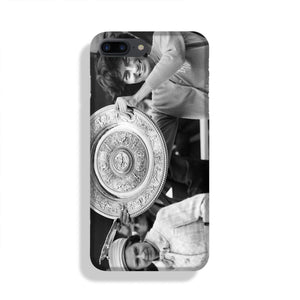Virginia Wade tennis player Phone Case iPhone 7/8 Max