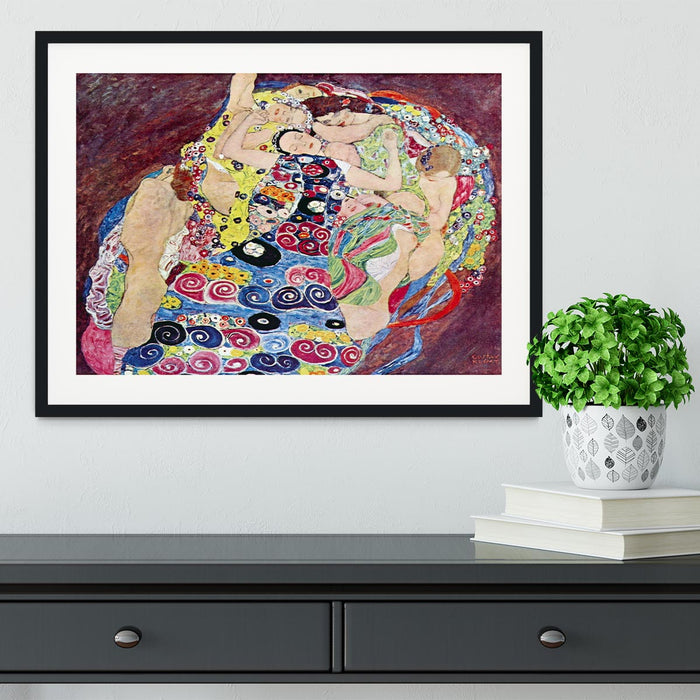 Virgins by Klimt Framed Print